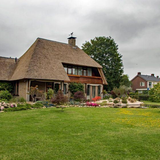 Tuin met vijver in Coevorden