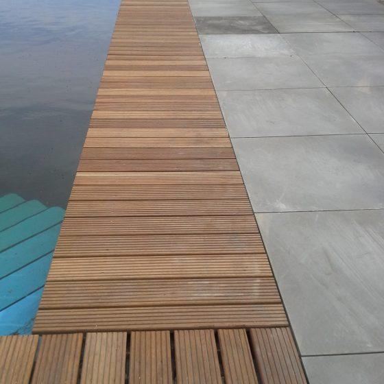 Zwemvijver laten aanleggen Mildam